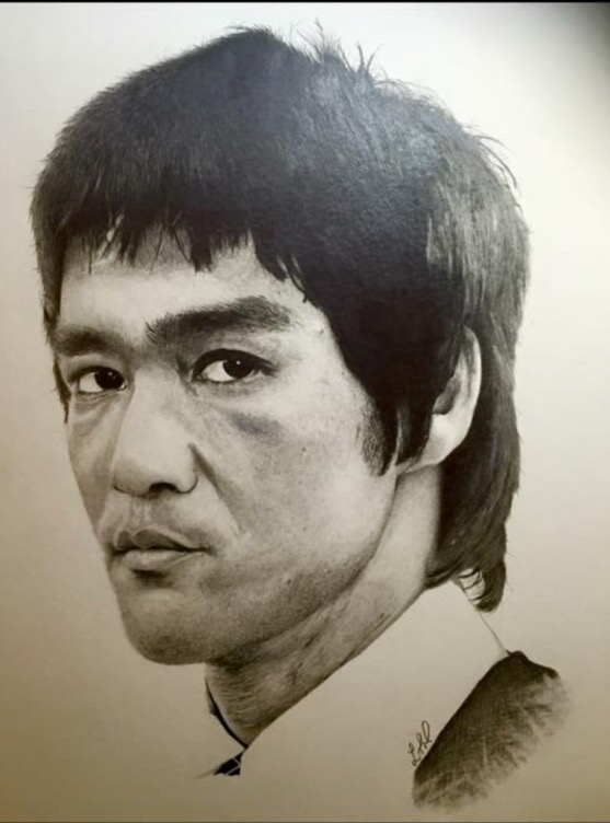Bruce Lee by Precise